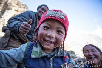 Petite fille Kiang