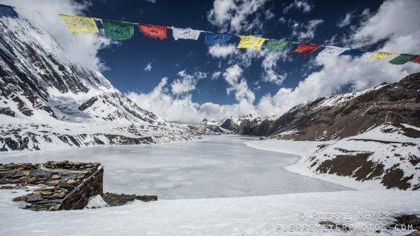 Le plus haut lac du monde...